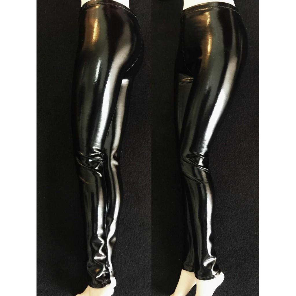 Celana Legging Panjang Ketat Elastis Bahan Kulit Warna Hitam Untuk Boneka 1 6 Shopee Indonesia