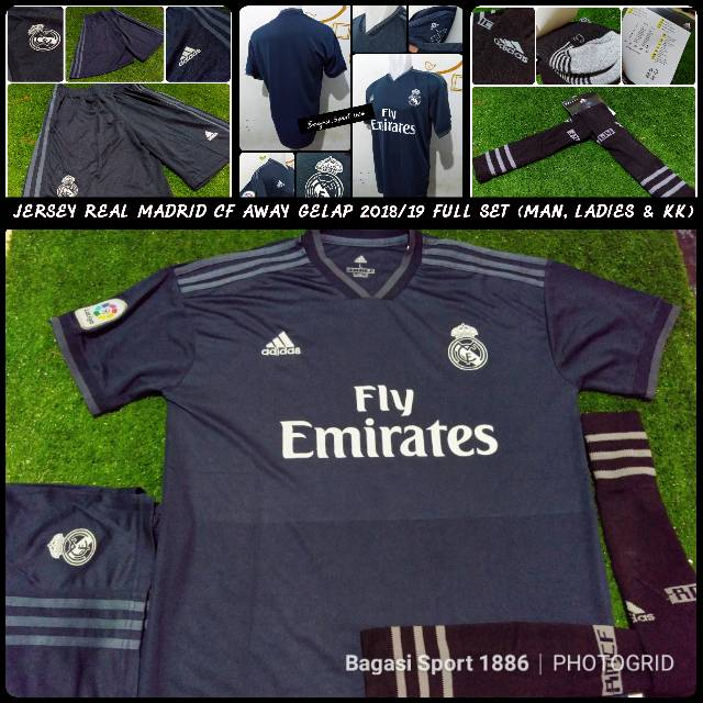 Jual Jersey (Baju Bola) Klub Real Madrid CF Grade Ori (GO) Home