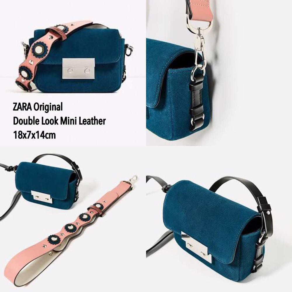Zara Sling Bag Double Look Shopee Indonesia Strap
