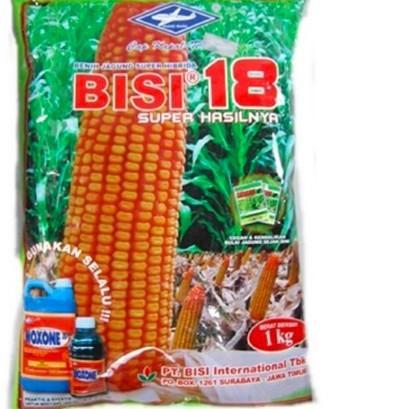 Harga Termurah - Benih jagung hibrida Bisi 18 isi 1kg jagung bisi18 bibit jagung bisi 18