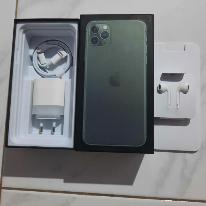 Dus iphone 11 pro & 11 pro Max Fullset ACC  imei J6Y7