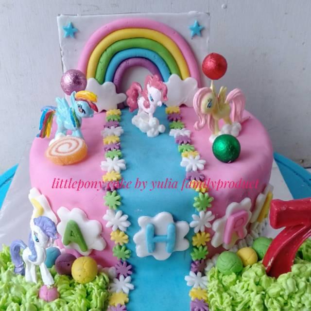 Kue Ulang Tahun Kuda Pony Shopee Indonesia