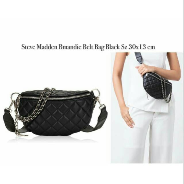 8cf8e043456 Steve Madden Bmandie Belt Bag Black