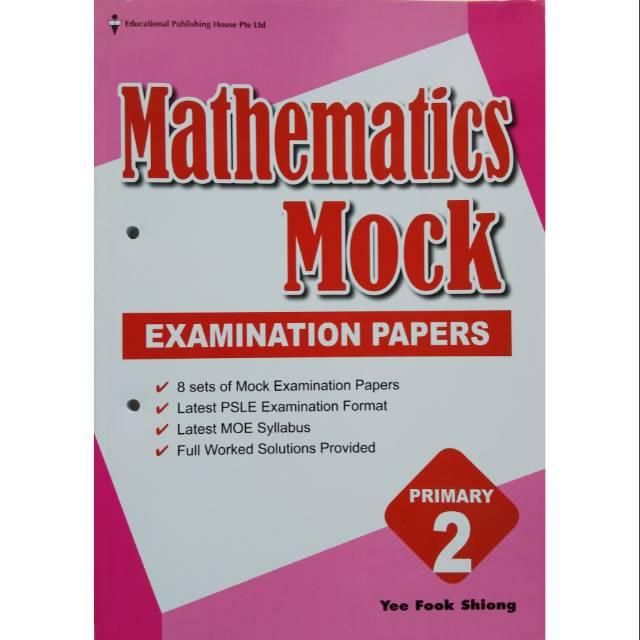 Mathematics Mock Examination Papers Primary 2
