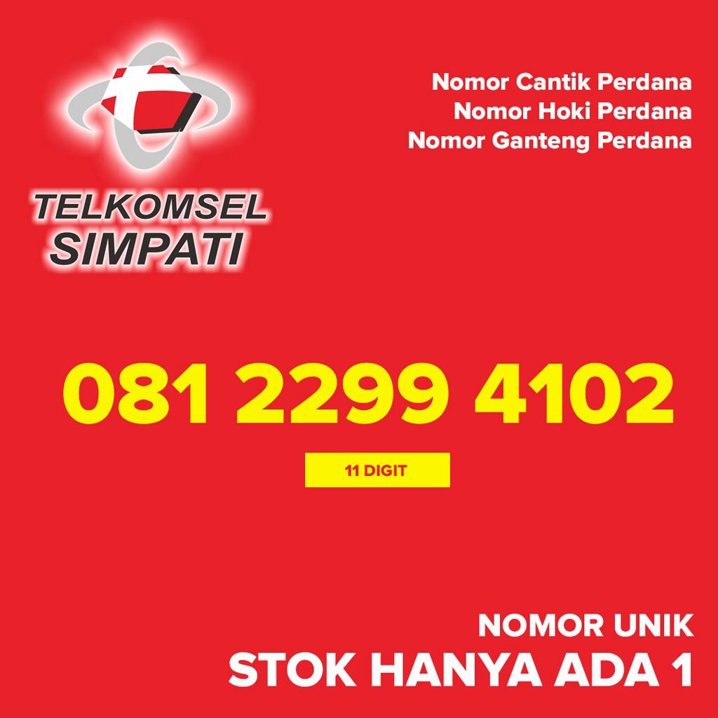 Kartu Perdana SIMPATI Nomor Cantik Hoki Ganteng 082162313355   Shopee Indonesia