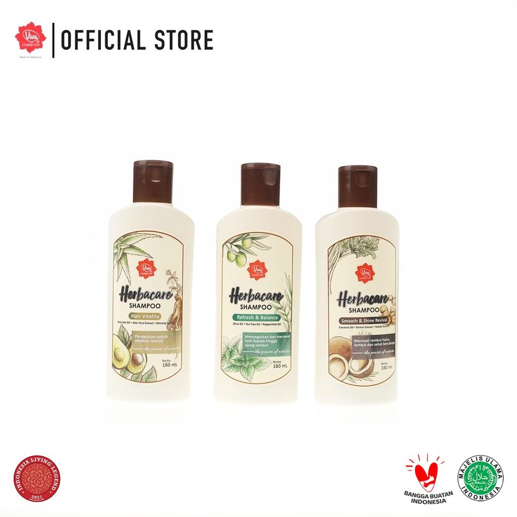 Viva Herbacare Shampoo - 180ml (tersedia 3 variant)-1