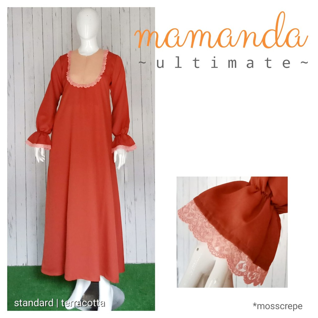 Gamis Dewasa Terracotta Ultimate Series by Mamanda