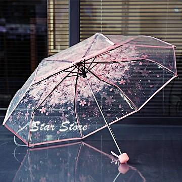 Payung Transparan Bening umbrella transparant Korea white umbrella   Shopee Indonesia