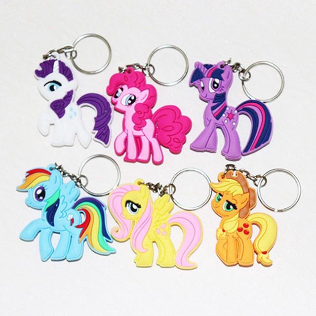 Gantungan Kunci Kartun My Little Pony 3d Sisi Ganda 01156 Shopee Indonesia