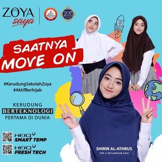 Kerudung Sekolah Zoya Sukses Jilbab Instant Bergo Instant