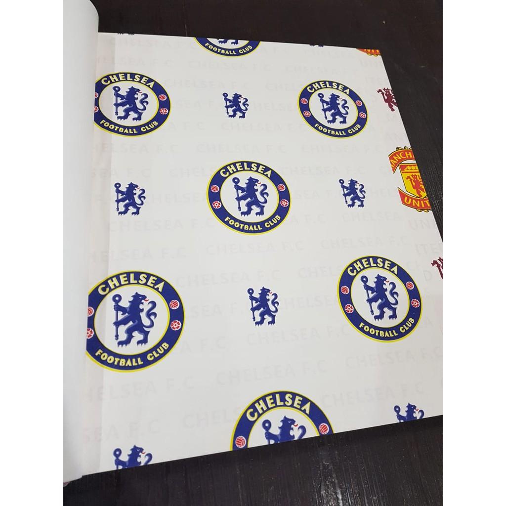 Wallpaper Dinding Murah Bukan Stiker 5m2 Chelsea 8809 1
