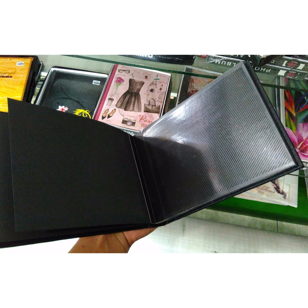 Album Foto Magnetic Sankyo Black Sheet Middle 80 4r Shopee Elegant Panjang Tempelan Rekatan Indonesia