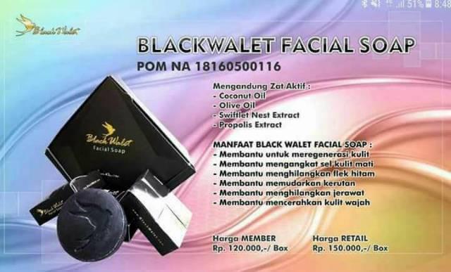 Neo Walet Blackwalet Black Walet Spriluna Beauty Soap Raletsia Shopee Indonesia