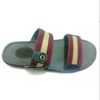 Sandal Sendal Pria Selop Slip On Flat Jepit Casual Santai Formal Wrangler  Kickers Lois Kulit Asli 598b637e6f