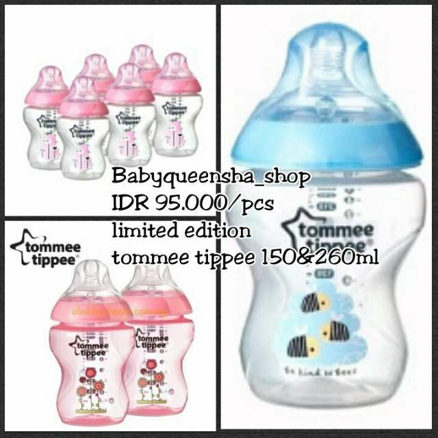 Tommee tippee limited edition/tommee tippee/botol susu tommee tippee/botol tommee/tommee tippee