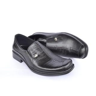 Sepatu Pantofel Pria Crocodile Sepatu Formal Sepatu Kerja - A8 Hitam Coklat caa66845ee