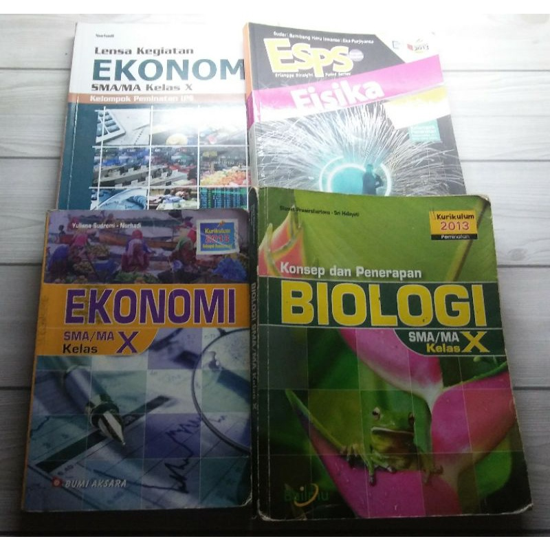 ESPS fisika kelas 10 / buku fisika kelas 1 sma / Buku fisika erlangga kelas X