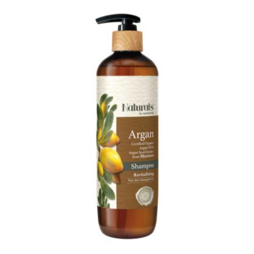 Naturals by Watsons Argan Shampoo Revitalising 490ml-1