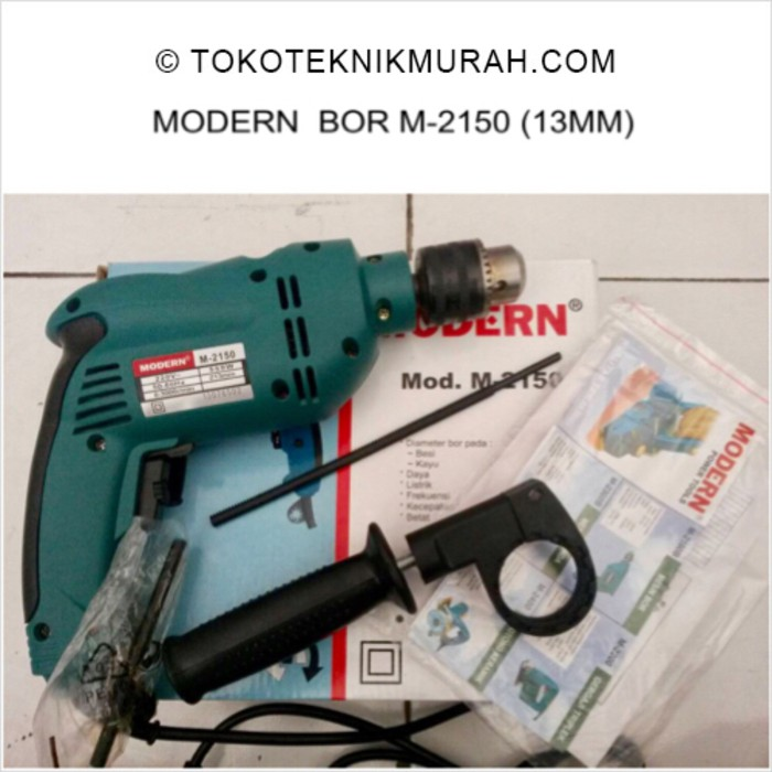 Modern M2150 / M 2150 / M-2150 13 mm Mesin Bor Tembok 13mm | Shopee Indonesia