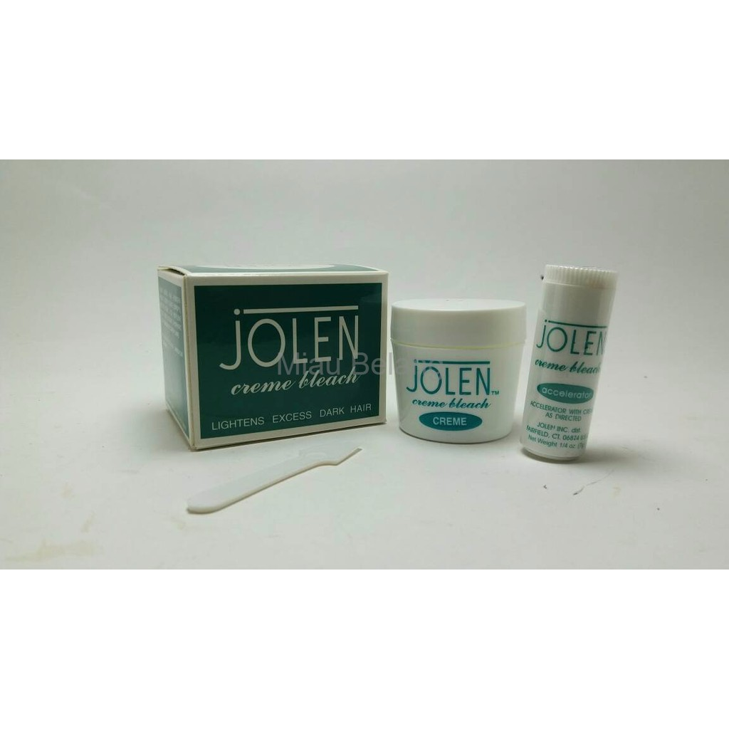 Jolen bleach cream .