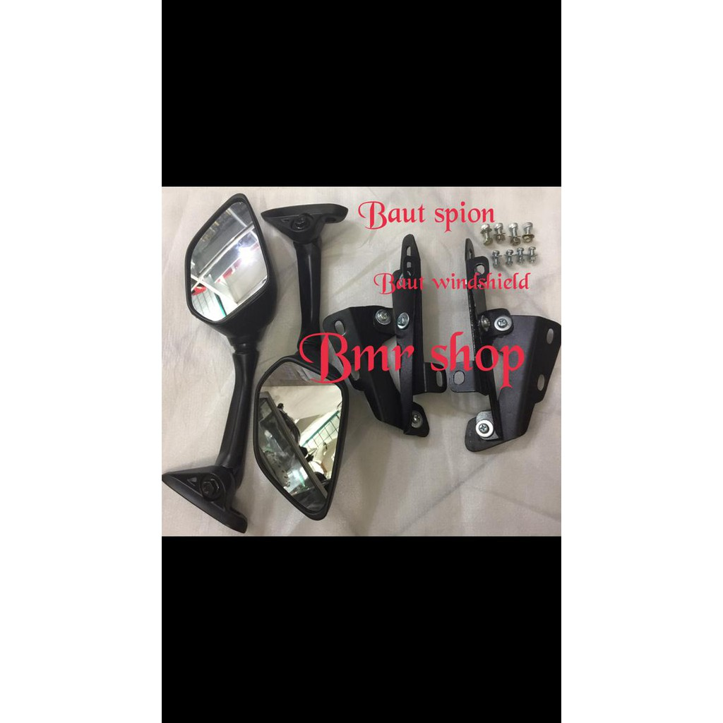 Bracket Model Serpo Breket Dan 4pc Baut Anti Jebol Nmax Holder Lampu Shopee Indonesia