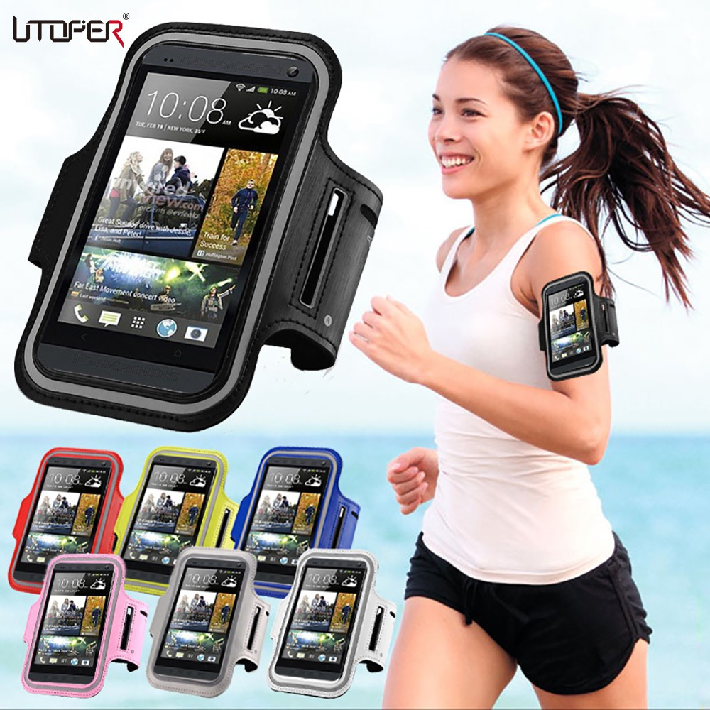 Patazon Armband dengan Slot Kartu untuk iPhone 6 / 6S / 5 / 5S / Samsung
