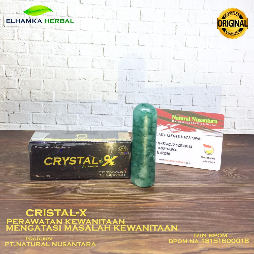 Crystal X Cristal Kristal Ncx Ptnasa Obat Keputihan Crytal New Shopee Indonesia