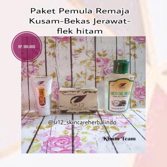 Paket Pemula Remaja Kulit Kusam Bekas Jerawat Flek Hitam Shopee Indonesia
