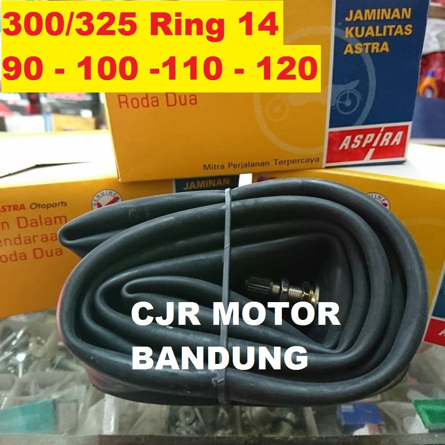 Ban dalam Aspira 3.00/3.25 ring 14 untuk ban motor 90/90 100/80 100/70 110/80 120/70