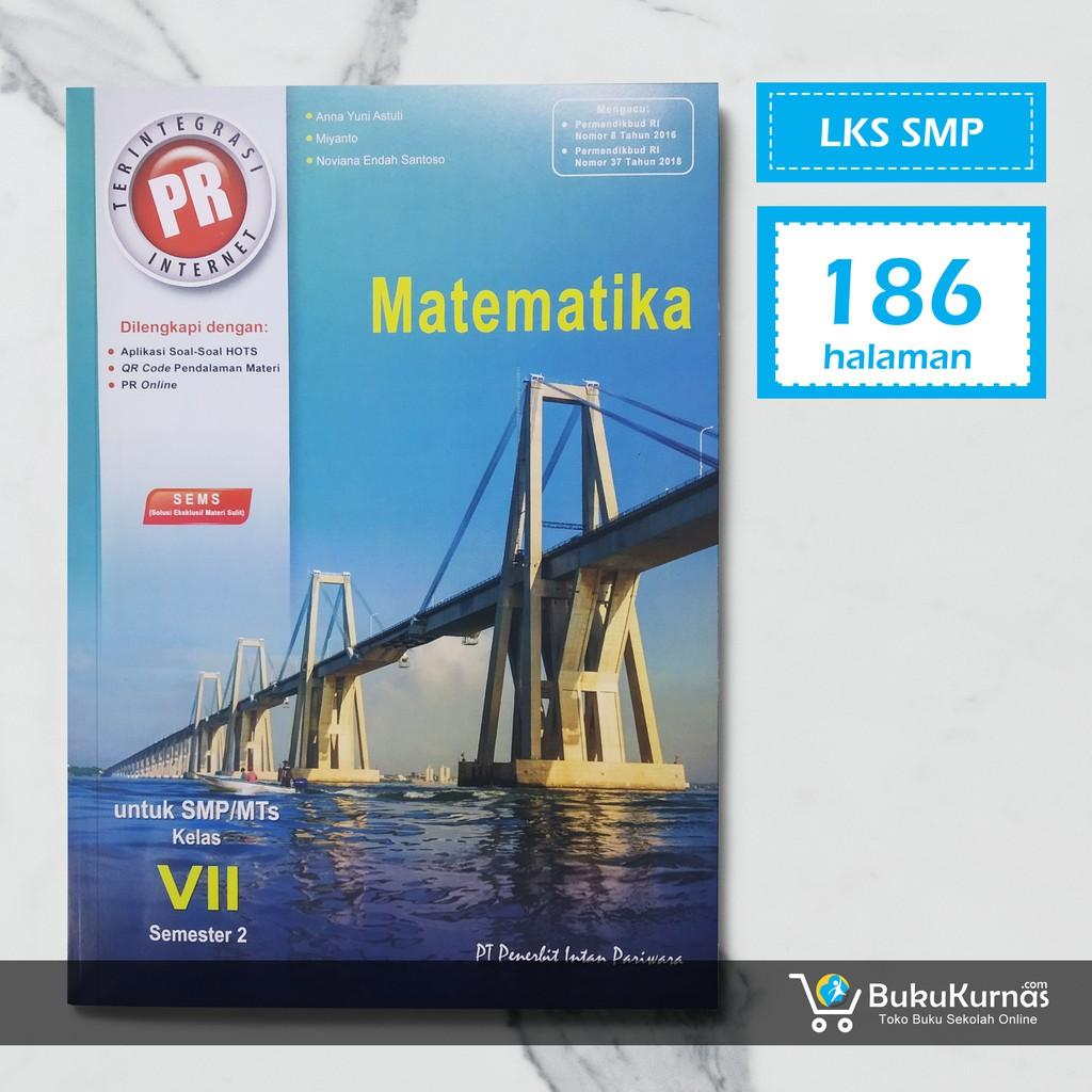 Buku Lks Matematika Smp Kelas 7 Semester 2 K13 Intan Pariwara Shopee Indonesia