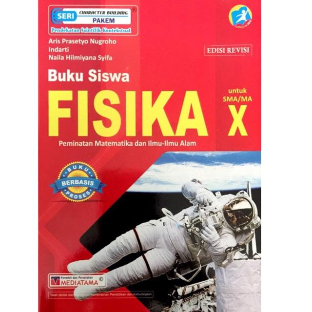 Buku Siswa Fisika Kelas X 10 Sma K13 Revisi Mediatama Shopee Indonesia