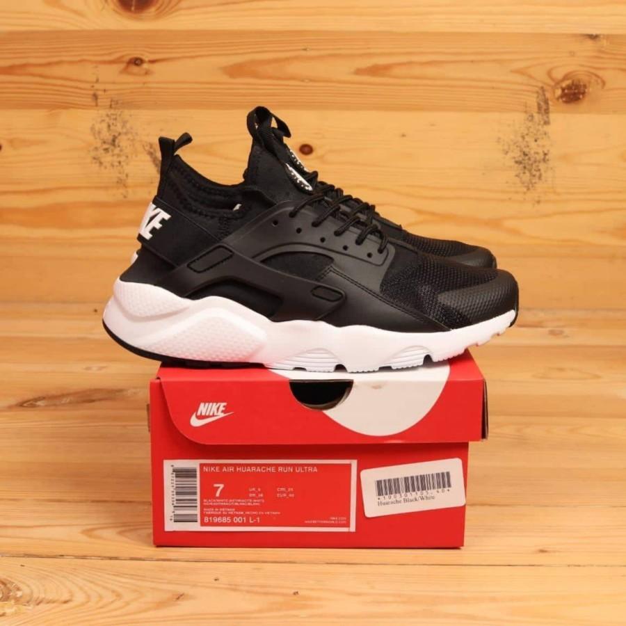 Nike Air Huarache Run Ultra Black White 819685-001 BNIB Perfect Kicks