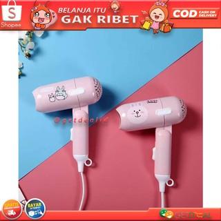 Hair Dryer Karakter Mini ONYX 938 500 Watt Pengering Rambut Sama dg Hairdryer  Lipat Nova Fleco dcac15b3dd