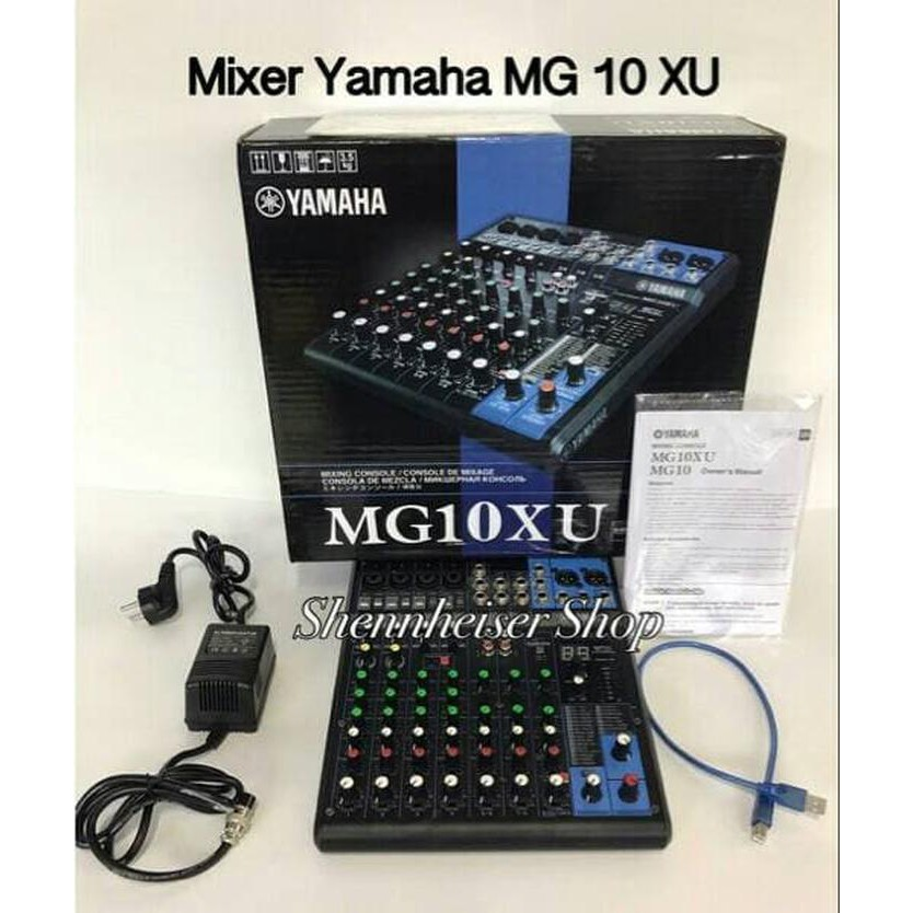 [Audio/Mixer] Mixer Yamaha MG 10 XU/ Yamaha Mixer Audio MG10XU Vokal/Vocal/Mic