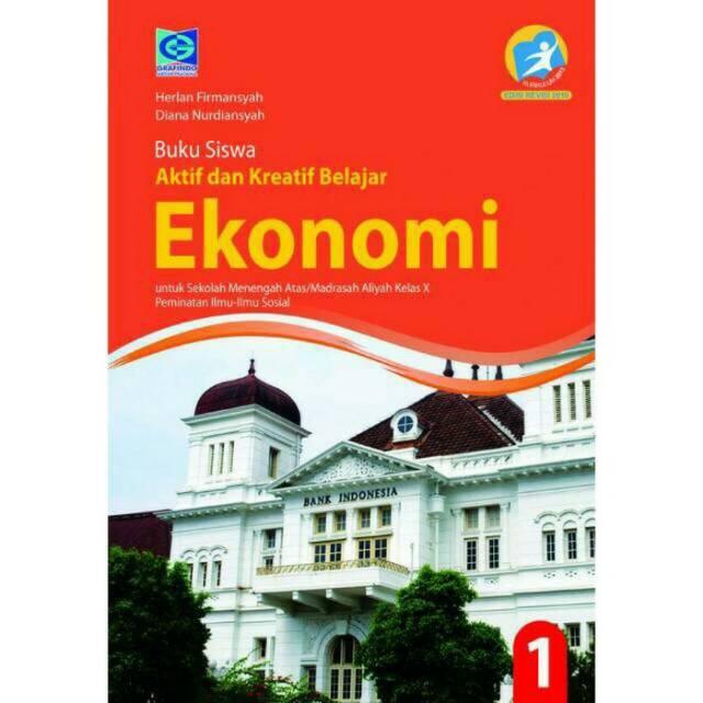 Buku Siswa Ekonomi Kelas X 10 Sma Edisi Revisi Shopee Indonesia