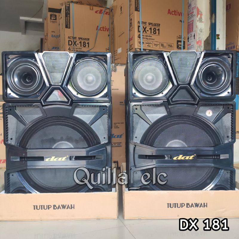 (BELUM ONGKIR) Speaker Aktif 18 inch DAT DX181 Super Bass