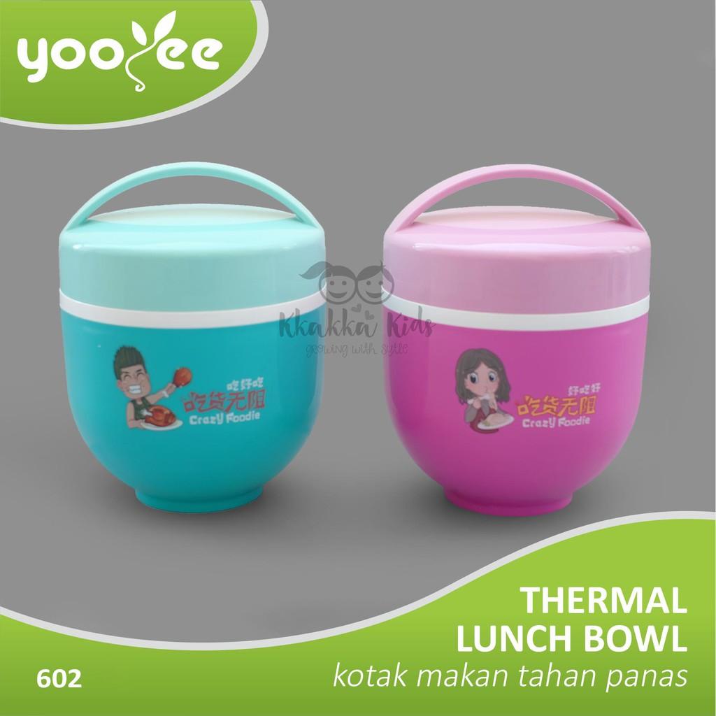 Yooyee Kotak Makan Grid Bento Lunch Box 6 Sekat Anti Bocorleak Leakproof 578 Bocor Tosca Proof Tempat Yooye Shopee Indonesia