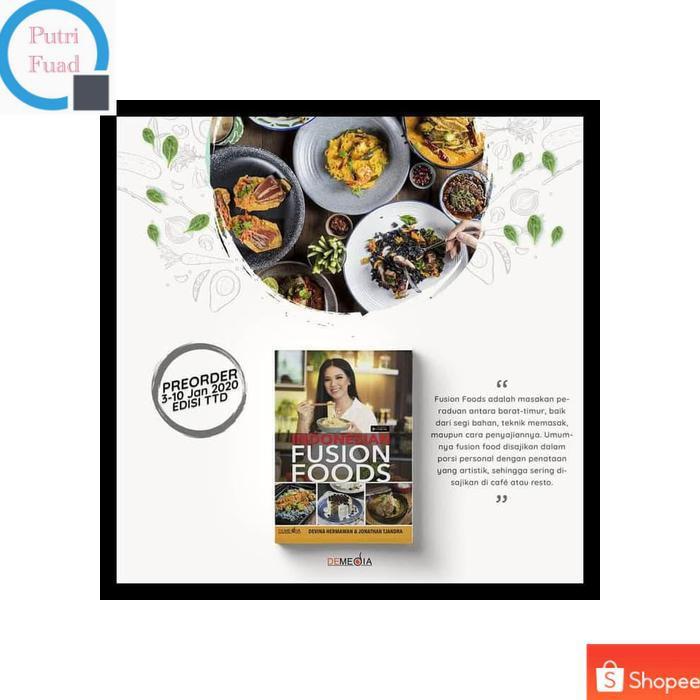Buku Resep Masakan Msk2n619 Indonesian Fusion Food Shopee Indonesia