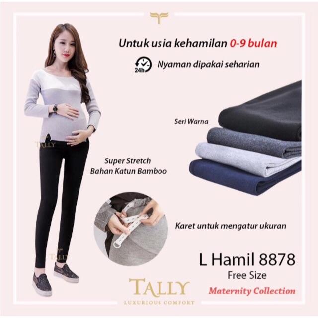 Celana Panjang Legging Hamil Merk Tally 8878 Dijamin Murah Shopee Indonesia