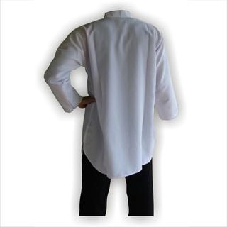 Gamis Pria Baju Koko Hitam Polos Gamis Putih Dan Hitam