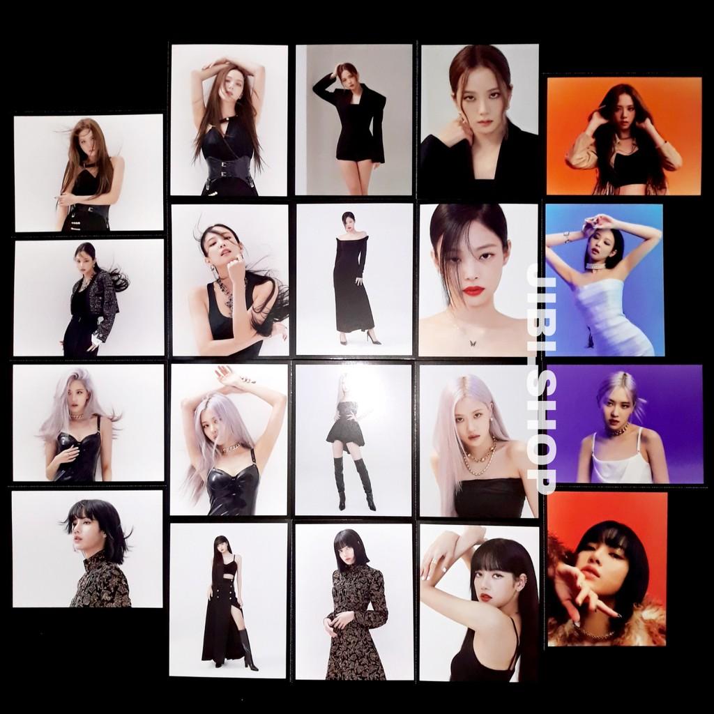 [vinyl limited postcard] blackpink the album lp official sharing jennie jisoo lisa rose pc photocard