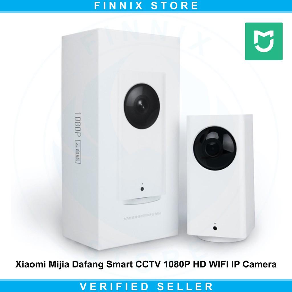 Xiaomi Mijia Dafang Smart Cctv 1080p Hd Wifi Ip Camera White Xiaofang With Night Vision Shopee Indonesia