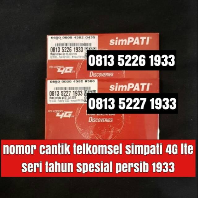perdana TELKOMSEL nomer cantik simpati 11 digit 4G lte kartu seri ratusan | Shopee Indonesia