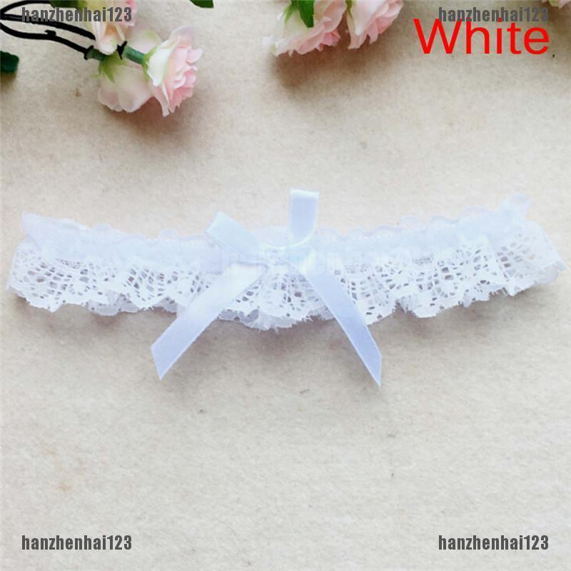Butterfly Lace Ribbon Bowknot Wedding Bridal Hen Gift Garters Adjust Legrinlo