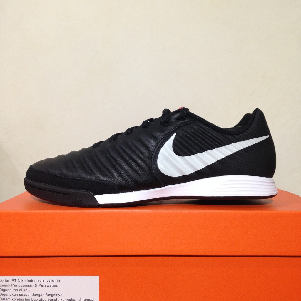 6f8fd7142 Sepatu Futsal Nike Legend X 7 Academy IC Black Platinum AH7244-006 Original  BNIB