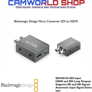 Blackmagic Micro Converter Hdmi To Sdi Black Magic Shopee Indonesia