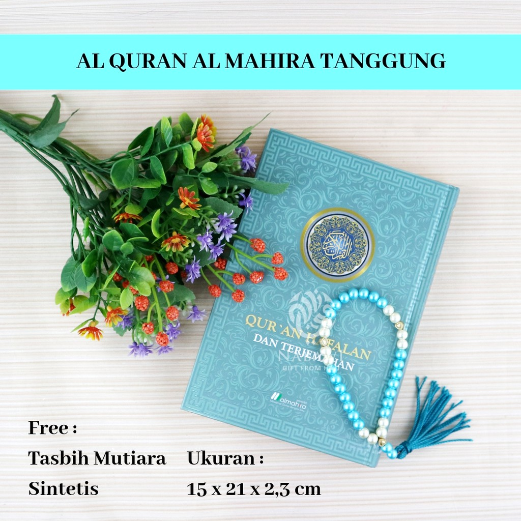 Al Quran Hafalan Cantik Al Mahira A5 Al Quran Terjemah Free Tasbih Cantik Mutiara Sintetis Shopee Indonesia