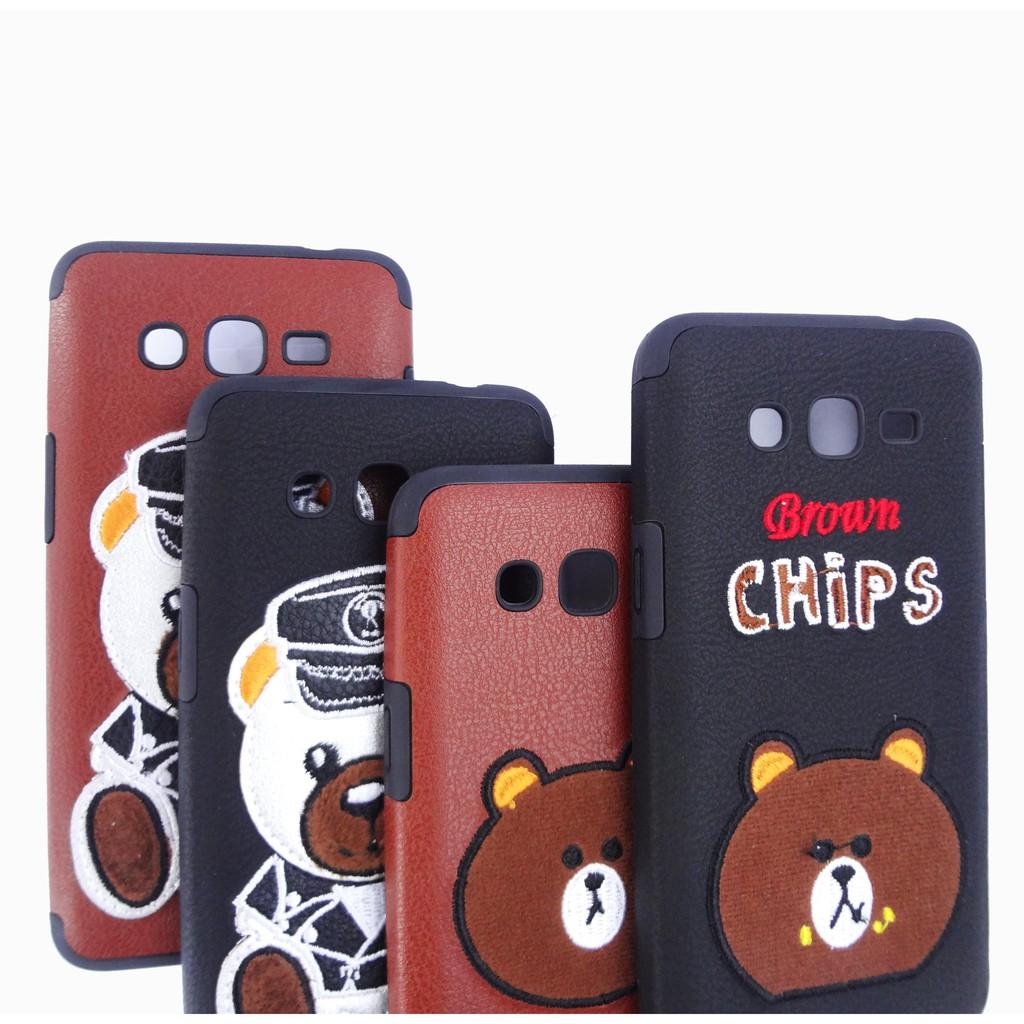 VIVO Y55 Leather Case Style Motif 3D Bear / Softcase Boneka Lucu | Shopee Indonesia