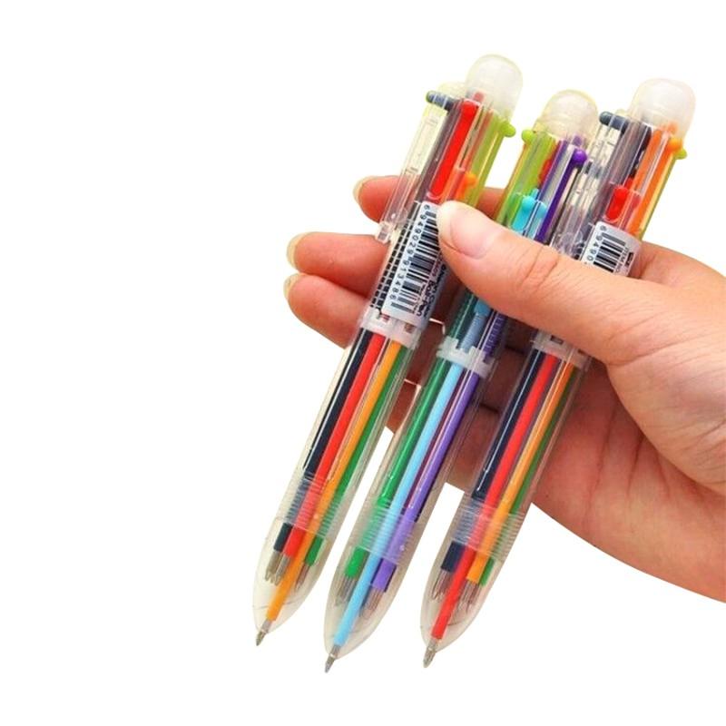 Novelty 6 Color Ballpoint Pen For Kids