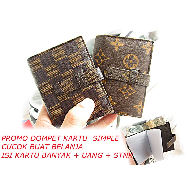 35 pc PREMIUM Dompet Kartu OR91-01 Wanita Korea card holder murah import   Shopee Indonesia